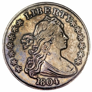 1804 Draped Bust Dollar Class I Mickley Hawn Queller Specimen