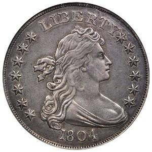 1804 Draped Bust Dollar Class I Watters Childs Specimen