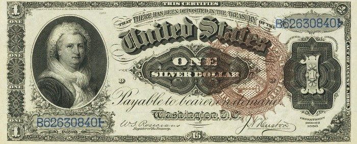 One Dollar Silver Certificates | Learn About Their Value
