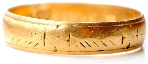 23K Gold Ring