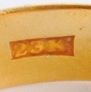 23K Gold Stamp