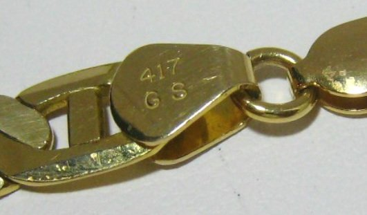 417 Gold Stamp