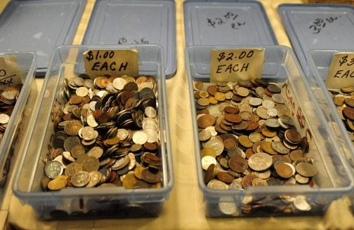 Coin Bins