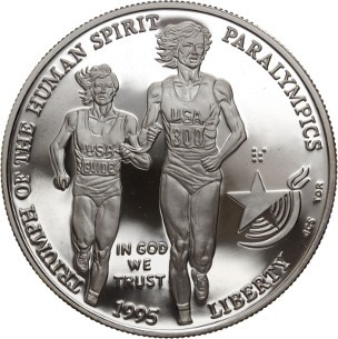 Paralympic Games Silver Dollar