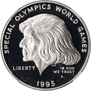 Special Olympics Silver Dollar