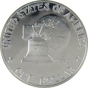 1776-1976 Silver Dollar Reverse