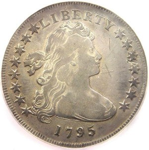 1795 Draped Bust Silver Dollar