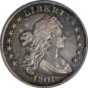 1801 Silver Dollar