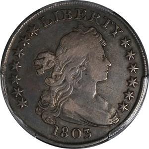1803 Silver Dollar