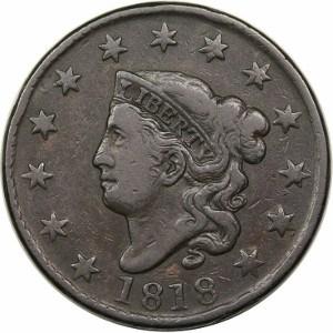 1818 Large Cent