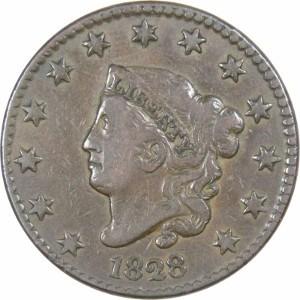 1828 Large Cent