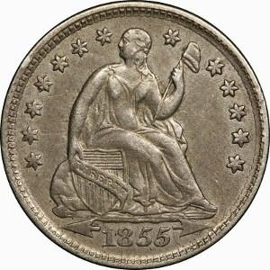 1855 Half Dime
