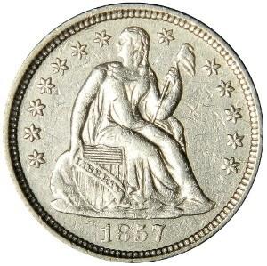1857 Dime