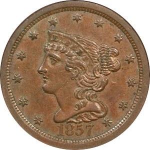 1857 Half Cent