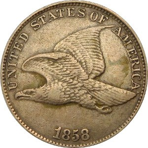 1858 Flying Eagle Penny