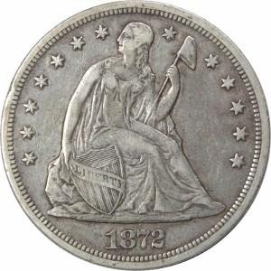 1872 Silver Dollar