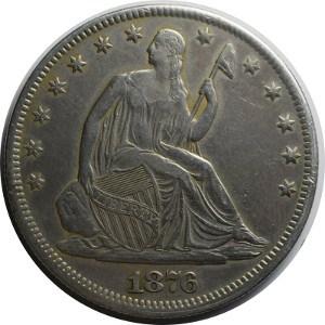 1876 Half Dollar