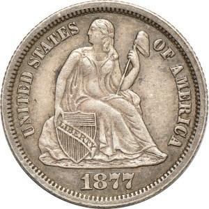 1877 Dime