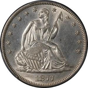 1877 Half Dollar