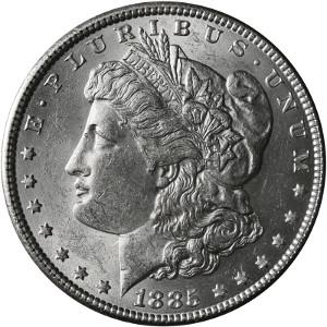 1885 Silver Dollar