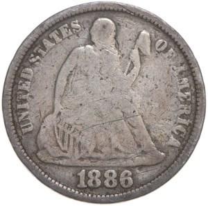 1886 Dime