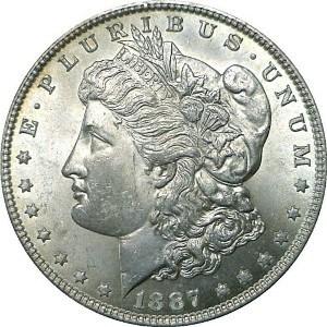1887 Silver Dollar