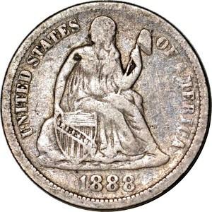 1888 Dime