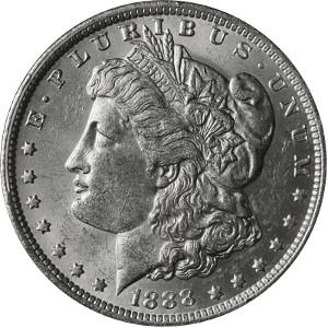 1888 Silver Dollar