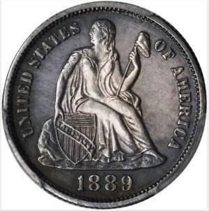 1889 Dime