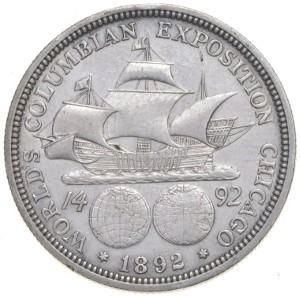 1892 Columbian Half Dollar Reverse