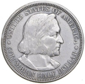 1892 Columbian Half Dollar