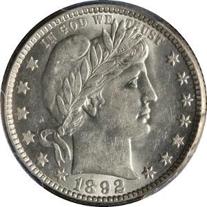 1892 Quarter
