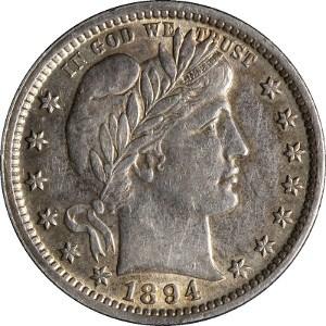 1894 Quarter