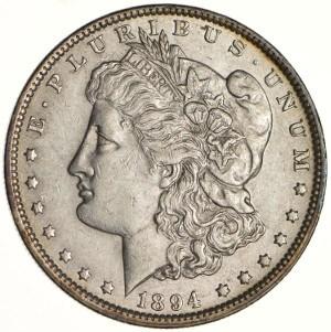 1894 Silver Dollar