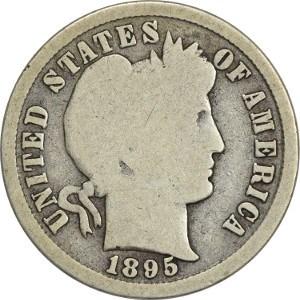 1895 Dime