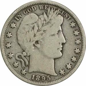 1895 Half Dollar