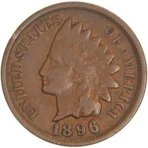 1896 Indian Head Penny
