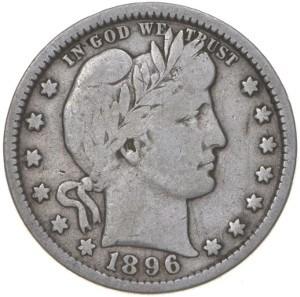 1896 Quarter