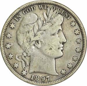 1897 Half Dollar