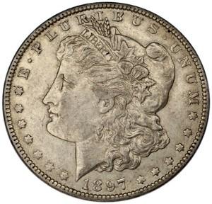 1897 Silver Dollar
