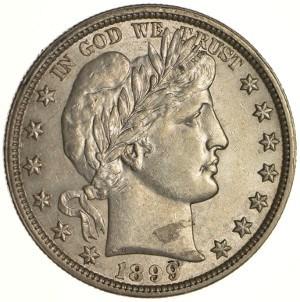 1899 Half Dollar