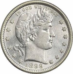 1899 Quarter
