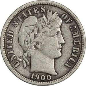 1900 Dime