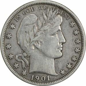 1901 Half Dollar