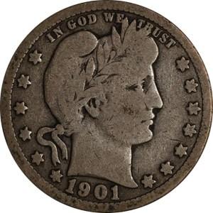1901 Quarter