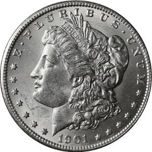 1901 Silver Dollar