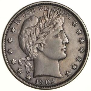 1902 Half Dollar
