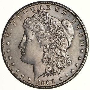 1902 Silver Dollar