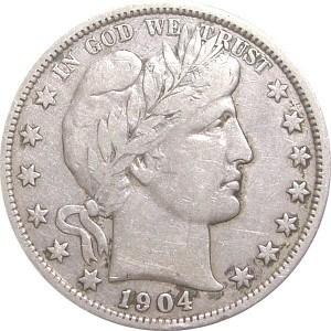 1904 Half Dollar