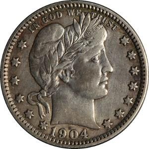 1904 Quarter